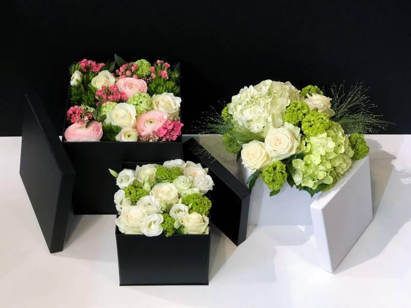 Livraison de bouquet de fleurs sur lyon 6e 3 couleurs vert for Livraison fleurs lyon